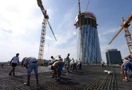 Birourile Raiffeisen, gata la sfarsitul anului. Sky Tower a ajuns la 100 de metri inaltime