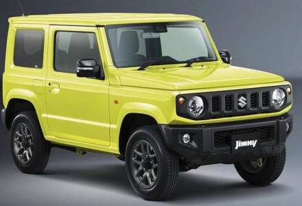 Noua generatie Suzuki Jimny: primele foto!