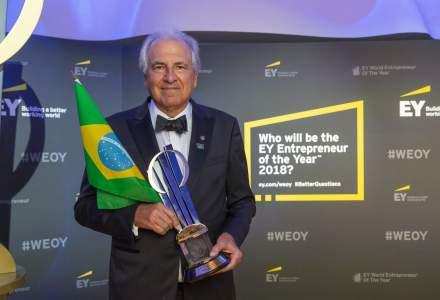 Rubens Menin, presedintele companiei braziliene MRV Engenharia, desemnat antreprenorul anului la nivel global, in gala EY World Entrepreneur Of The Year
