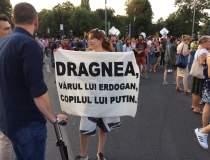 Protest in Piata Victoriei....