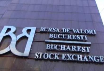 Avans redus pentru Bursa de la Bucuresti, pe o lichiditate apatica