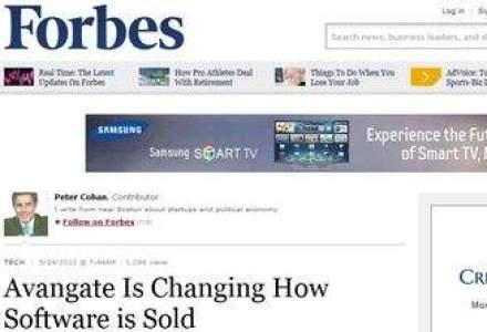 Avangate, companie fondata de Radu Georgescu, apare pe prima pagina in Forbes. Ce scriu americanii