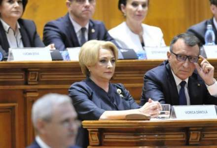 Motiunea de cenzura pentru demiterea Guvernului Dancila, prezentata luni in plenul Parlamentului