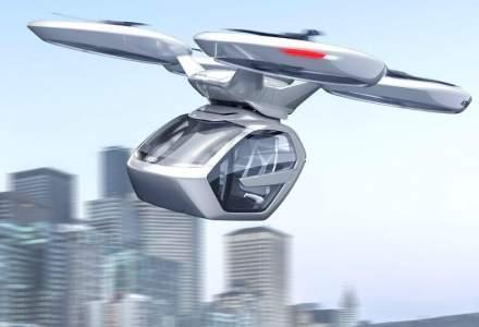Audi si Airbus cer guvernului german sa le permita testarea de taxiuri aeriene la Ingolstadt