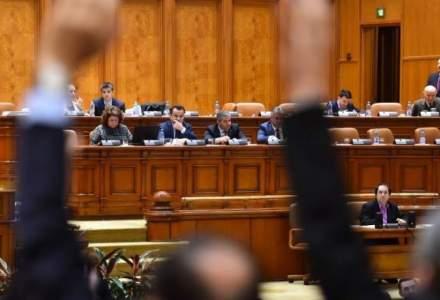 Masuri speciale in Parlament, in ziua motiunii de cenzura: tarc pentru jurnalisti si lifturi exclusive pentru demnitari