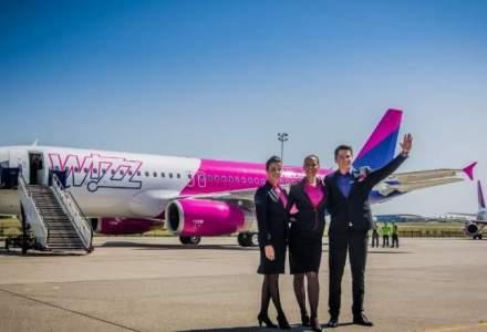 Wizz Air lanseaza 4 rute noi: Bucuresti - Goteborg, Nisa, Kutaisi, Atena
