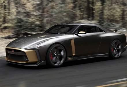 Nissan GT-R50 primeste un design fara limite de la Italdesign