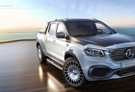 2018 Mercedes-Benz Clasa X modificat de Carlex Design! Iata cum arata limuzina camionetelor!