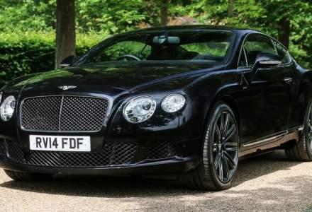 Bentley Continental GT Speed detinut de Elton John scos la vanzare