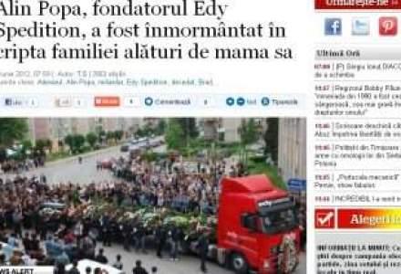 Proprietarul Edy Spedition a fost inmormantat. Peste 1000 de persoane au participat la slujba