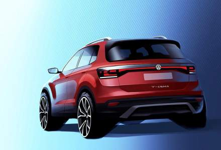 Volkswagen prezinta un prototip in versiune apropiata de cea pentru productie a modelului T-Cross