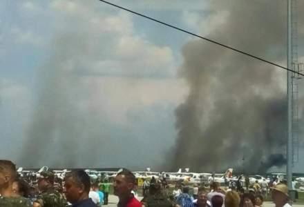 UPDATE: Pilotul aeronavei MIG 21 Lancer, prabusita la Fetesti, a murit