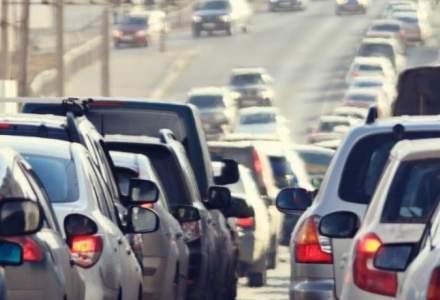 Trafic aglomerat pe DN1 Ploiesti - Brasov