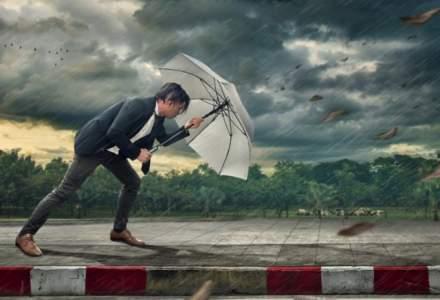 Avertizare ANM: Cod galben de furtuna pentru opt judete
