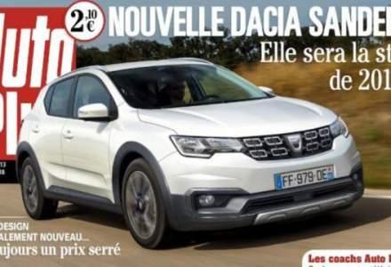 Noua Dacia Sandero: presa franceza publica prima poza