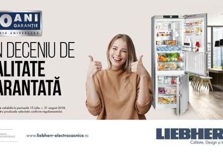 (P) Brandul german Liebherr ofera 10 ani garantie la produsele frigorifice