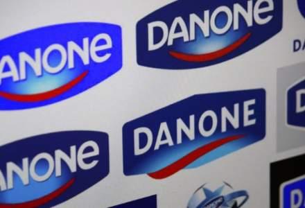 Danone, afaceri de 497 milioane lei in 2017, sustinute de segmentul de iaurturi