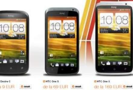 Orange lanseaza doua smartphone-uri HTC. Preturile incep de la 9 euro