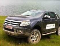 Test cu noul Ford Ranger, un...