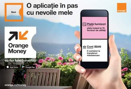 Orange Money anunta lansarea conturilor IBAN pentru clientii aplicatiei: acestia pot transfera bani gratuit catre orice banca din Romania