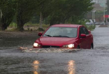 Cod galben de inundatii pe rauri din 33 de judete din tara, pana miercuri
