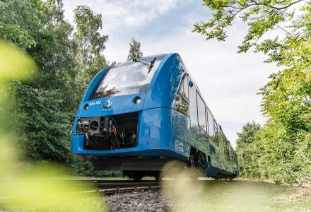 Primul tren de pasageri din lume care functioneaza cu hidrogen, omologat in Germania