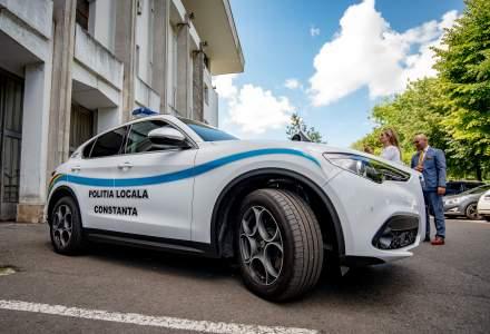 Politia din Constanta a primit un SUV Alfa Romeo Stelvio pentru 6 luni