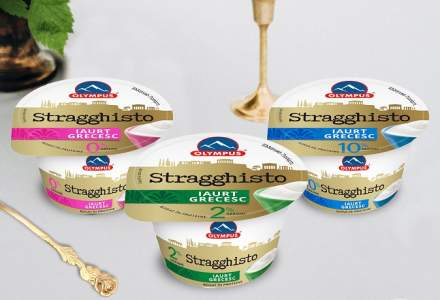 Olympus investeste peste 20 de milioane de euro intr-o noua linie de productie si lanseaza pe piata locala un nou iaurt grecesc
