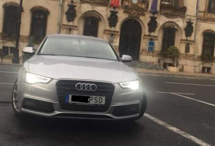"UPDATE 3: Posesorul masinii inmatriculate ,,M..E PSD"" anunta ca a ramas fara permis si placute"