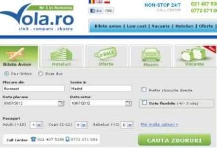 Vola.ro vinde bilete de avion prin Infoturism.ro