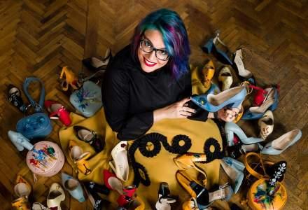 Producatorul de genti pictate Lyria a lansat prima colectie de pantofi. Productia, externalizata din cauza lipsei de forta de munca