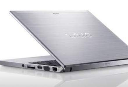 Sony mizeaza pe o crestere de 25% a vanzarilor de laptopuri Vaio