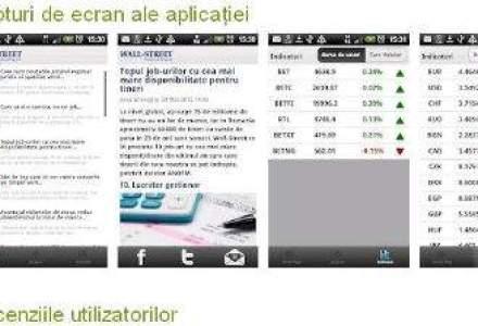 Wall-Street.ro lanseaza aplicatia optimizata pentru smartphone-urile Android