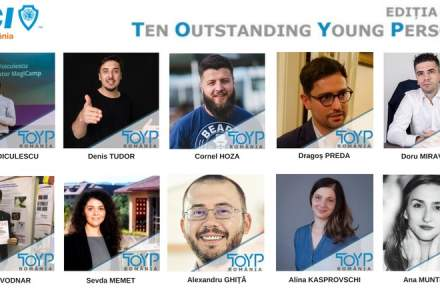 (P) Cine sunt cei 10 finalisti JCI Ten Outstanding Young Persons
