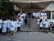 Protest la Spitalul...