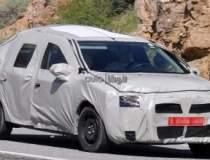 Primele poze spion cu Dacia...