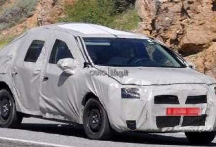 Primele poze spion cu Dacia Logan 2