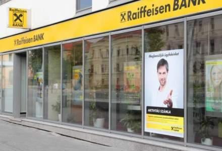 Profitul Raiffeisen Bank a crescut cu 74% in semestrul unu al anului fata de aceeasi perioada din 2017