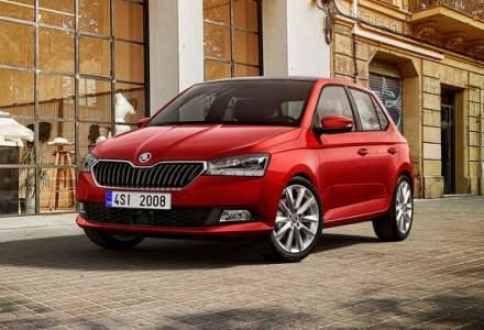 Preturi Skoda Fabia facelift in Romania: modelul de clasa mica porneste de la 10.000 de euro