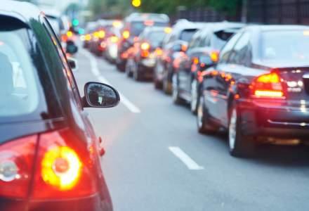 Circulatie intrerupta pe A2, la iesirea din Bucuresti, pe sensul catre litoral din cauza a trei accidente rutiere