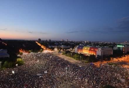 Protest Piata Victoriei: a doua zi de proteste anti - PSD s-a desfasurat fara incidente majore