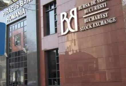 BVB: Valoarea tranzactiilor pe segmentul principal al pietei coboara cu 16,4% in aceasta saptamana
