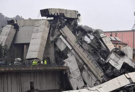 UPDATE Zeci de morti dupa ce un pod de pe autostrada A10 din Italia s-a prabusit