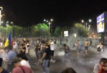 Parchetul Militar: 192 de plangeri contra jandarmilor care au intervenit la protestul de vineri