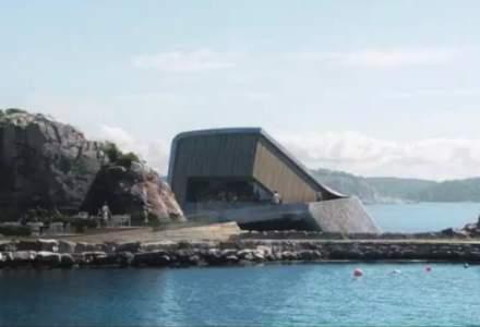 Cum arata primul restaurant din Europa construit sub apa [VIDEO]