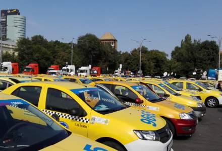 Dupa incidentele din 10 august, si taximetristii se revolta impotriva PSD