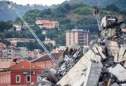 Pod prabusit la Genova: Operatiunile de cautare s-au incheiat, bilantul oficial este de 43 de morti