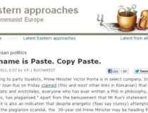The Economist, despre Ponta:...
