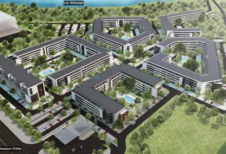 SIF Moldova si Cityring Property devolta 1.400 de apartamente langa lacul Straulesti din Capitala cu o investitie de 100 mil. euro