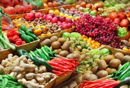 INS: Importuri de legume si fructe de 691 milioane euro, in primele 5 luni; exporturile au totalizat 57,6 milioane euro